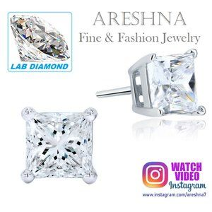 1ct Lab Diamond Luxury Stud Earrings